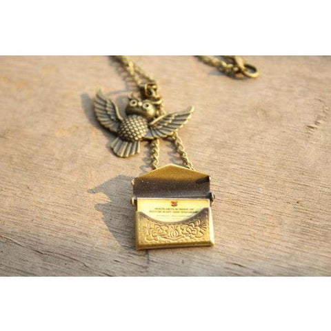 """Owl Post"" Necklace"