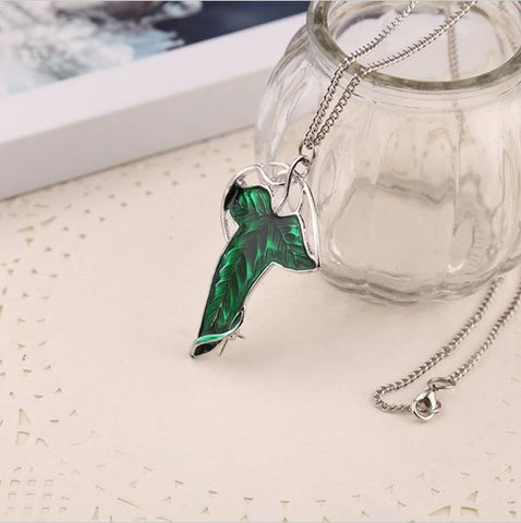 Elven Leaf Necklace