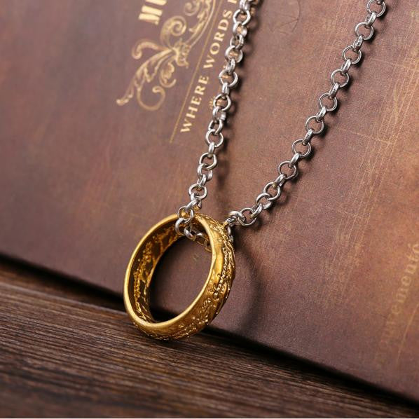 """The One Ring"" Necklace"