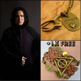"""Remembering Severus Snape"" Necklace"