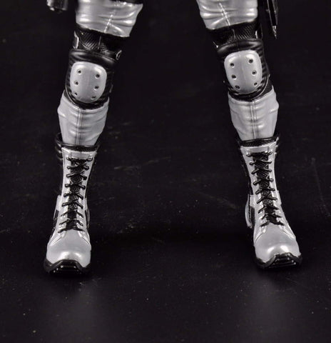 "Collectible ""Silver Merc"" Action Figure"