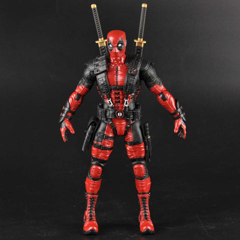 "Collectible ""Red Merc"" Action Figure"
