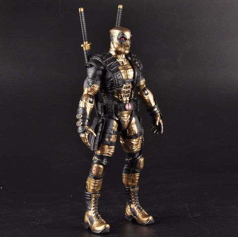 "Collectible ""Golden Merc"" Action Figure"