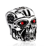 """T-800"" Stainless Steel Ring"