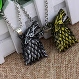 """Dire Wolf"" Necklace"