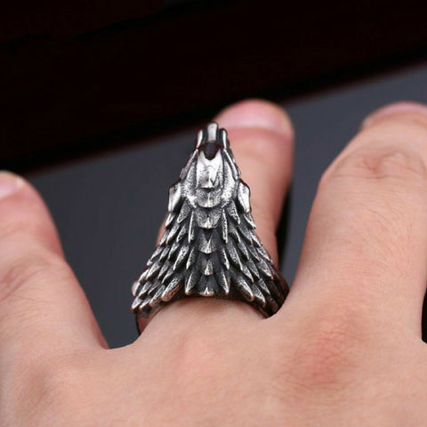 """Dire Wolf"" Ring"