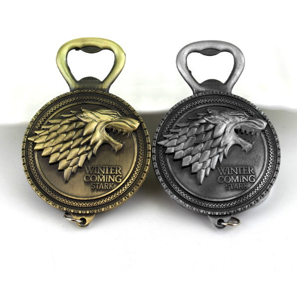 """House Stark"" Bottle Opener"