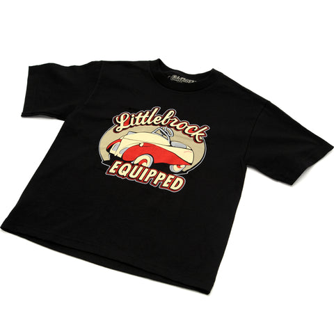Black Littlebrock Youth Tee