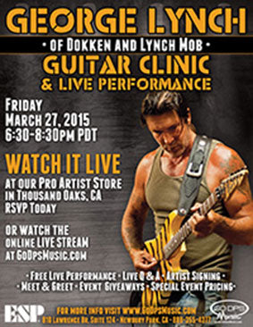 George Lynch 2015 Clinic