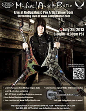 Michael Angelo Batio 2013 Clinic