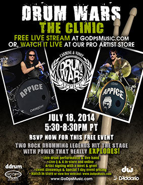 Drum Wars Clinic 2014