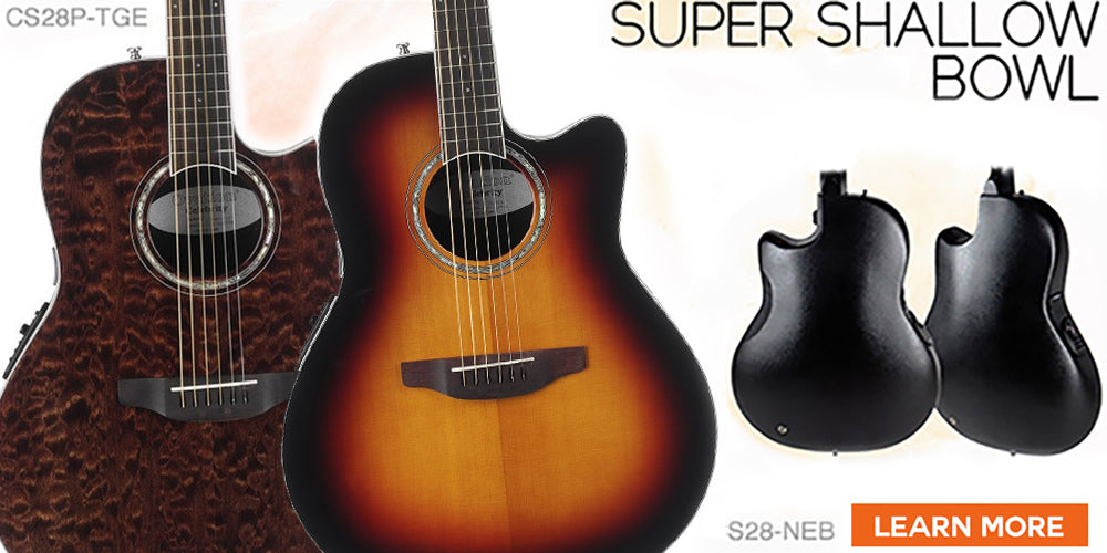 Ovation Super Shallow Bowl Godpsmusic