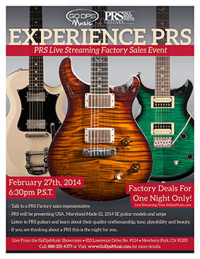 Experience PRS 2014