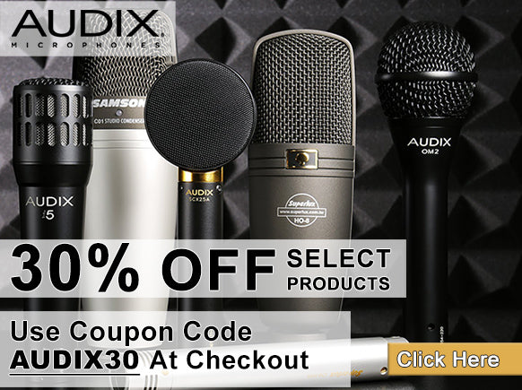 Audix Holiday Deals