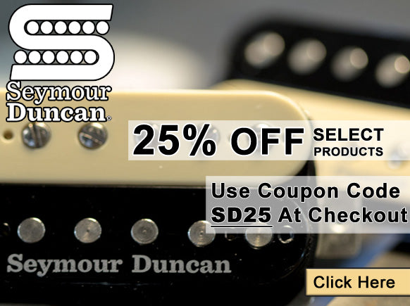 Seymore Duncan Holiday Deals