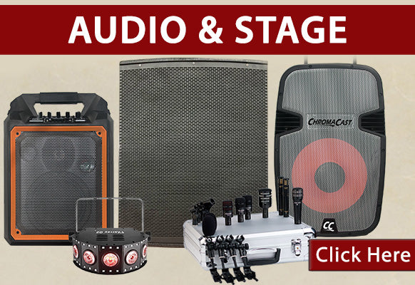 Holiday Sale Audio and Stage