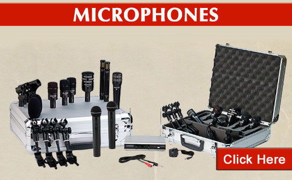 microphones clearance