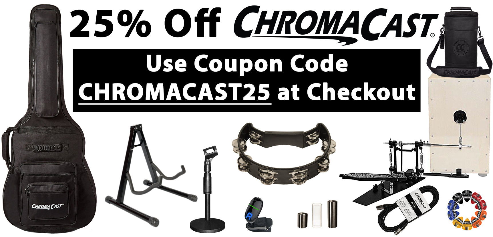 Chromacast Accessories Played by the Legend