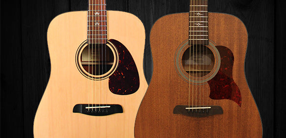 Sawtooth Acoustic Dreadnought Guitars