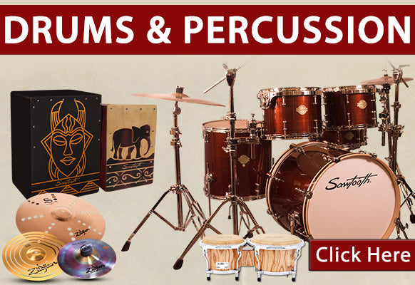 Drums and Percussion on Holiday Clearance