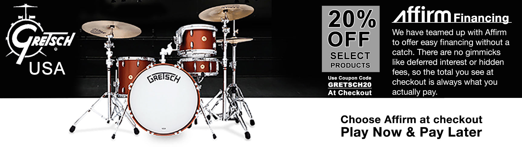 Gretsch USA Holiday Sales
