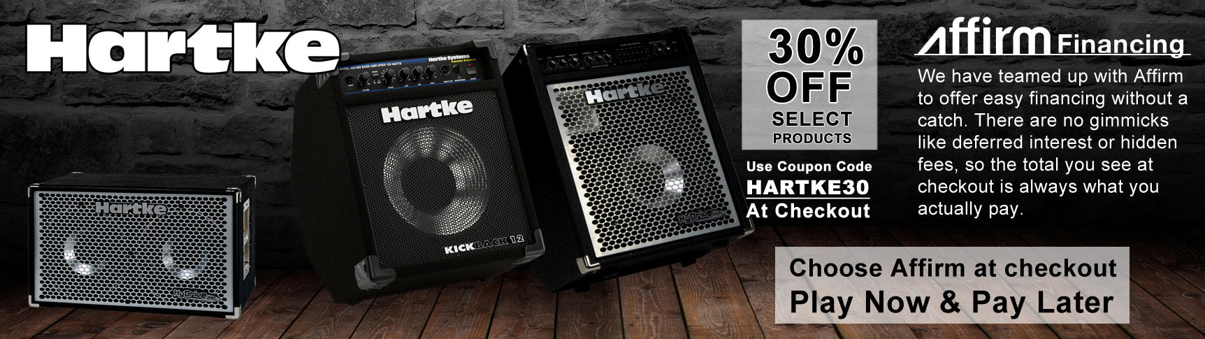 Hartke Holiday Sale