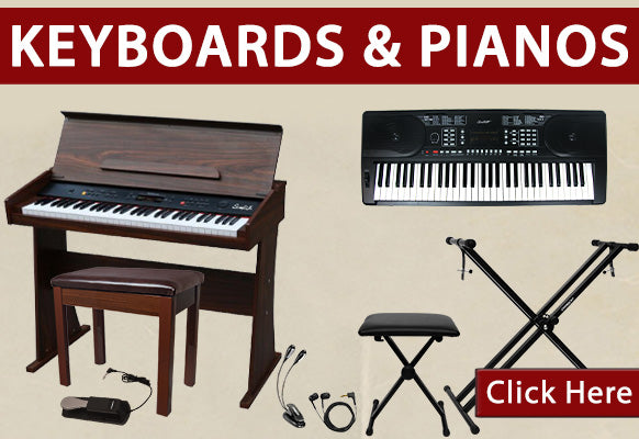 Keyboards and Pianos on holiday clearance