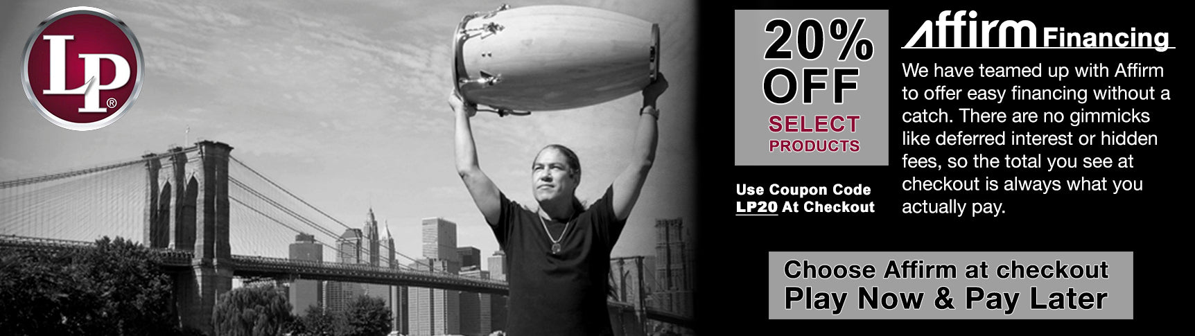 Latin Percussion Holiday Sales
