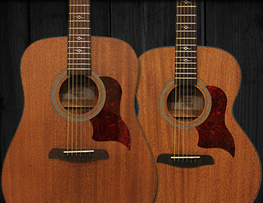Sawtooth Mahogany Acoustic Guitars