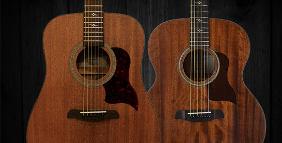 Mahogany Acoustic Guitars