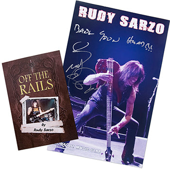 Rudy Sarzo Collector's Book & Poster Pack