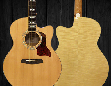 Sawtooth Maple Series Acoustic Guitars