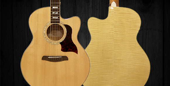 Maple Series Acoustic Guitars