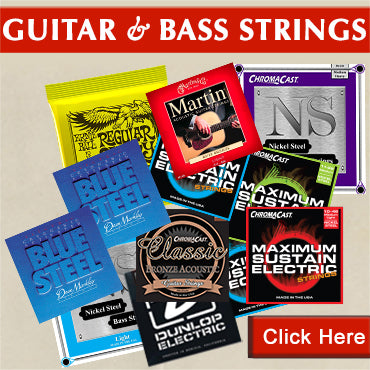 Guitar and Bass Strings Clearance