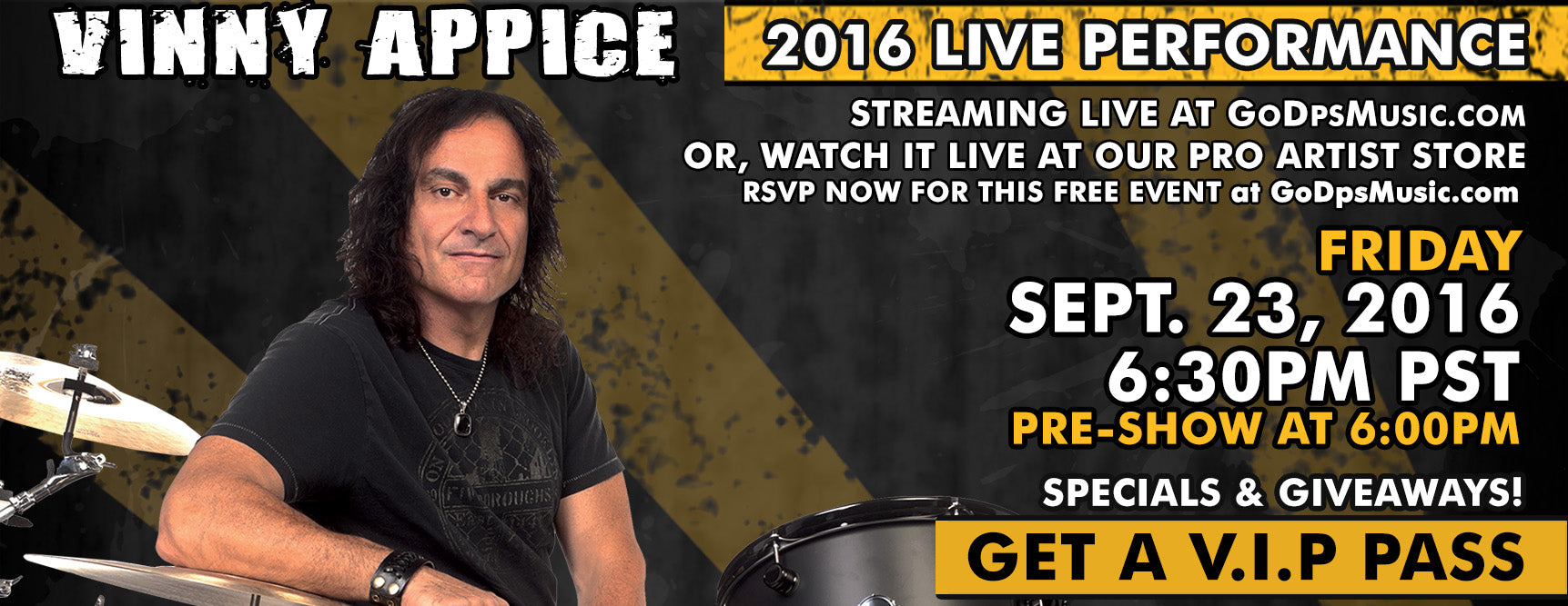 Vinny Appice 2016 Event