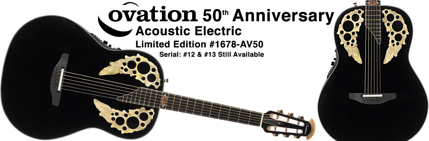 Ovation 50th Anniversary