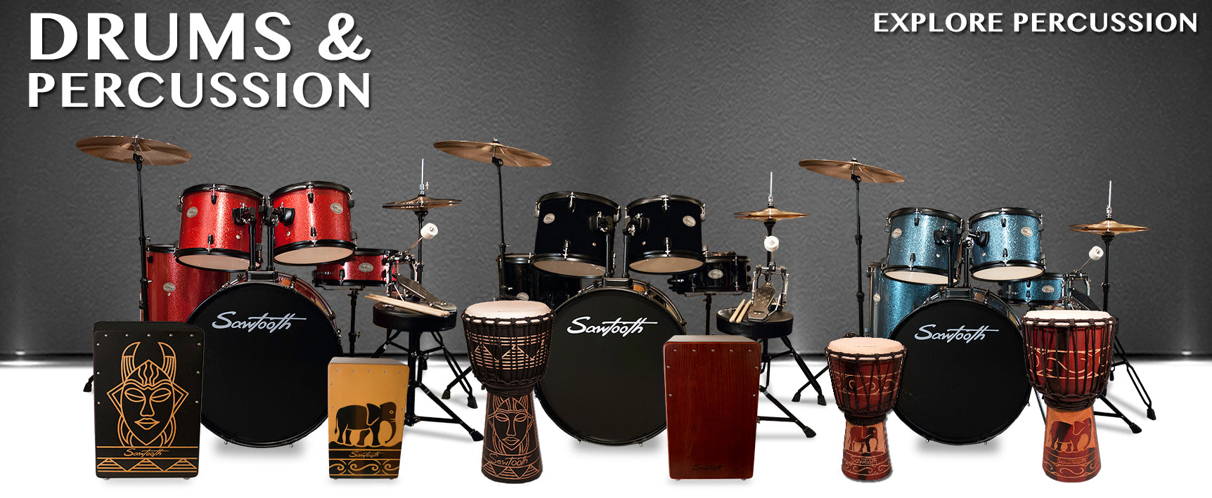 Sawtooth Percussion