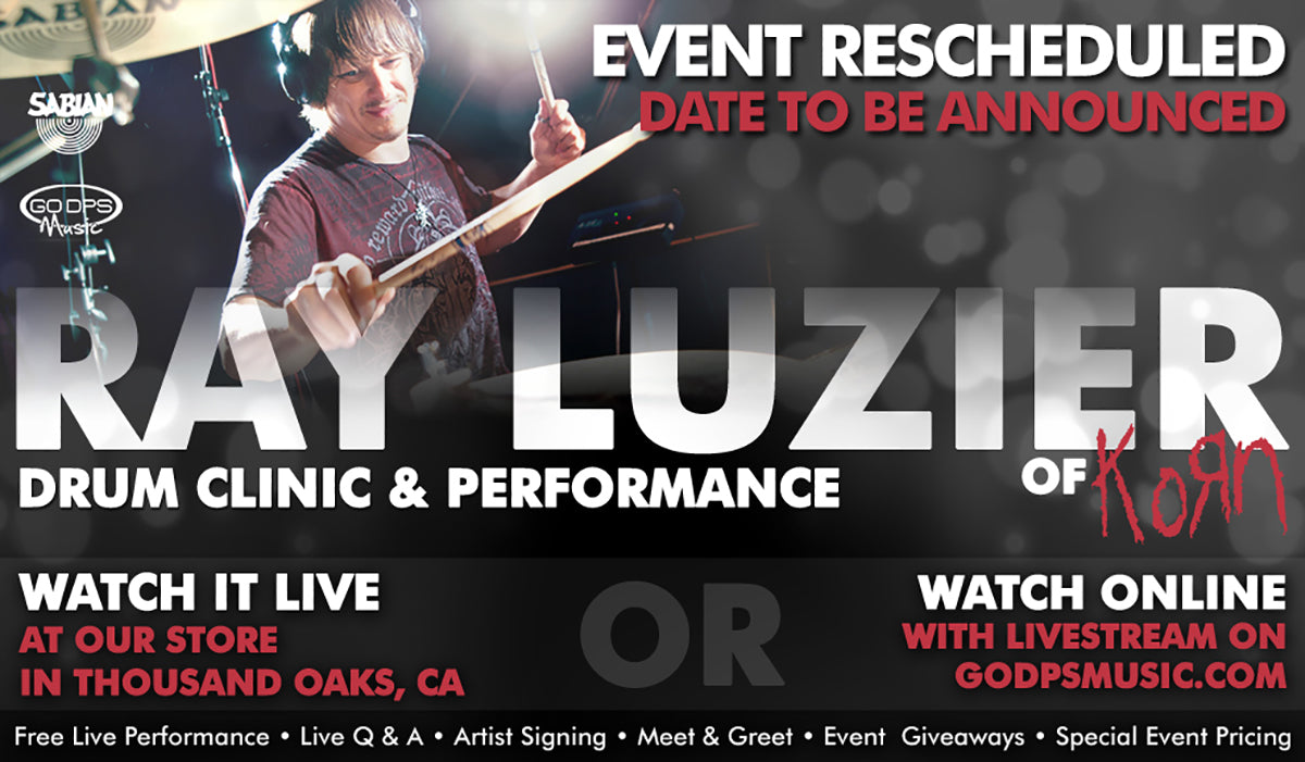 Ray Luzier Drum Clinic