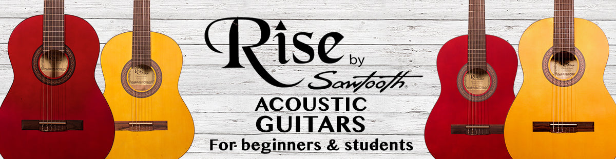 Rise By Sawtooth Beginner Acoustic Guitars
