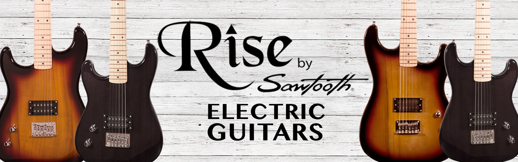 Rise by Sawtooth Beginners Electric Guitar