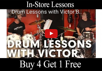 drum lessons with victor