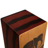 Sawtooth Harmony Series Hand Stained Elephant Design Travel Size Cajon