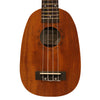 Sawtooth Mahogany Pineapple Ukulele with Quick Start Guide & ChromaCast Accessories