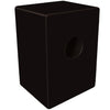 Sawtooth Harmony Series Hand Stained Spirit Design Satin Black Large Size Cajon