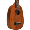 Sawtooth Mahogany Pineapple Ukulele with Quick Start Guide