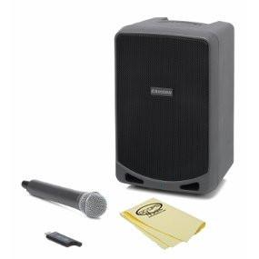 Samson Expedition XP106w Rechargeable Battery Powered Wireless PA with Bluetooth & GoDpsMusic Polish Cloth