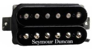 Seymour Duncan 11102-70 SH-11 Custom Custom Humbucker Guitar Pickup Black