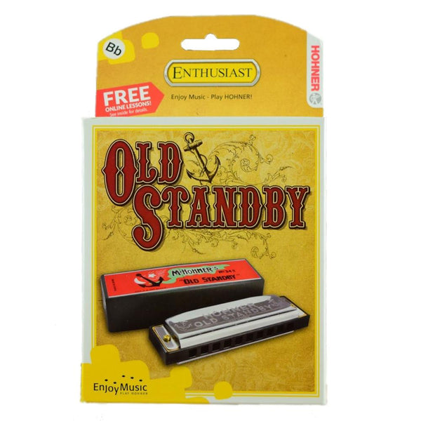 Hohner Old Standby Harmonica, Key of Bb Major
