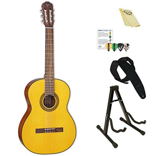 Takamine Classical Acoustic Guitar with ChromaCast Accessories, Natural