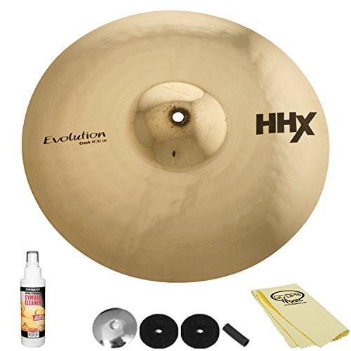 "Sabian 16"" HHX Evolution Crash 11606XEB with ChromaCast Accessories"